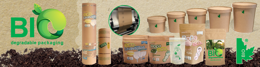 PACKAGING BIODEGRADABLE